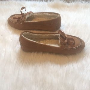 Sperry Brown Moccasins Women's Size 8